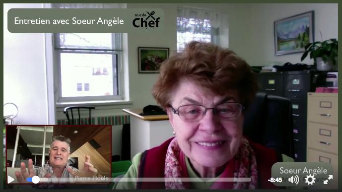 Truc de Chef interview Sœur Angèle