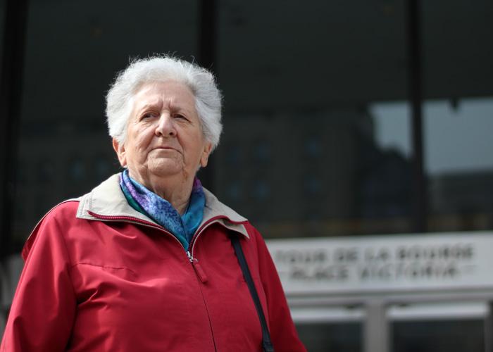 Sœur Esther Champagne: «Scandaleux … les primes des hauts dirigeants de Bombardier»