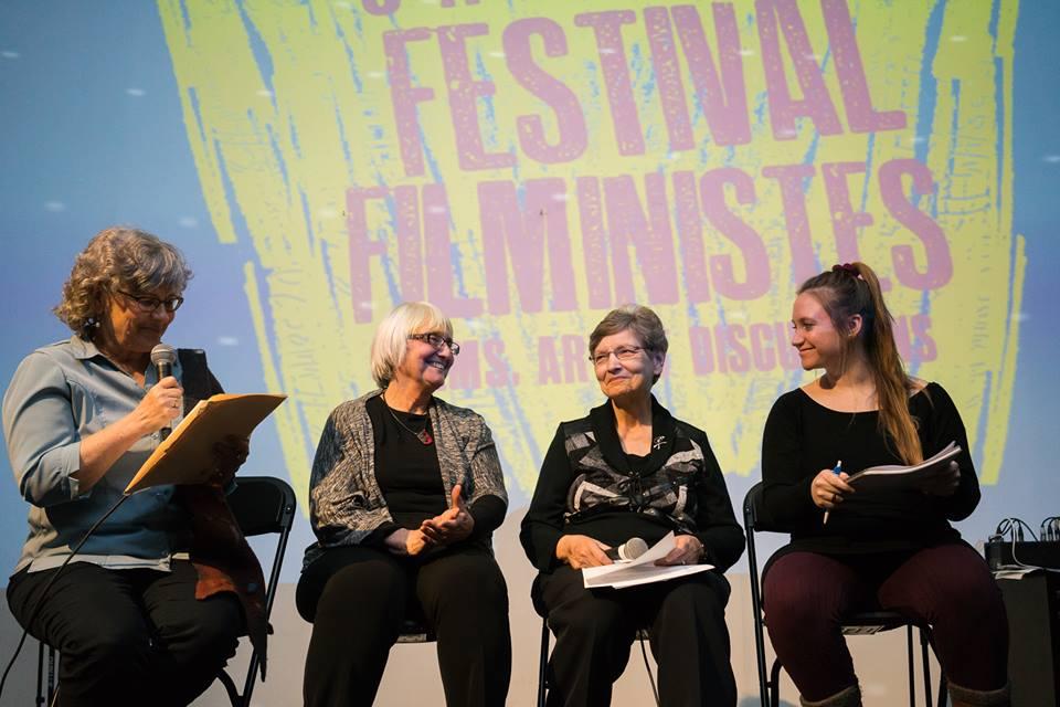 Gisèle Turcot au panel du Festival des Filministes