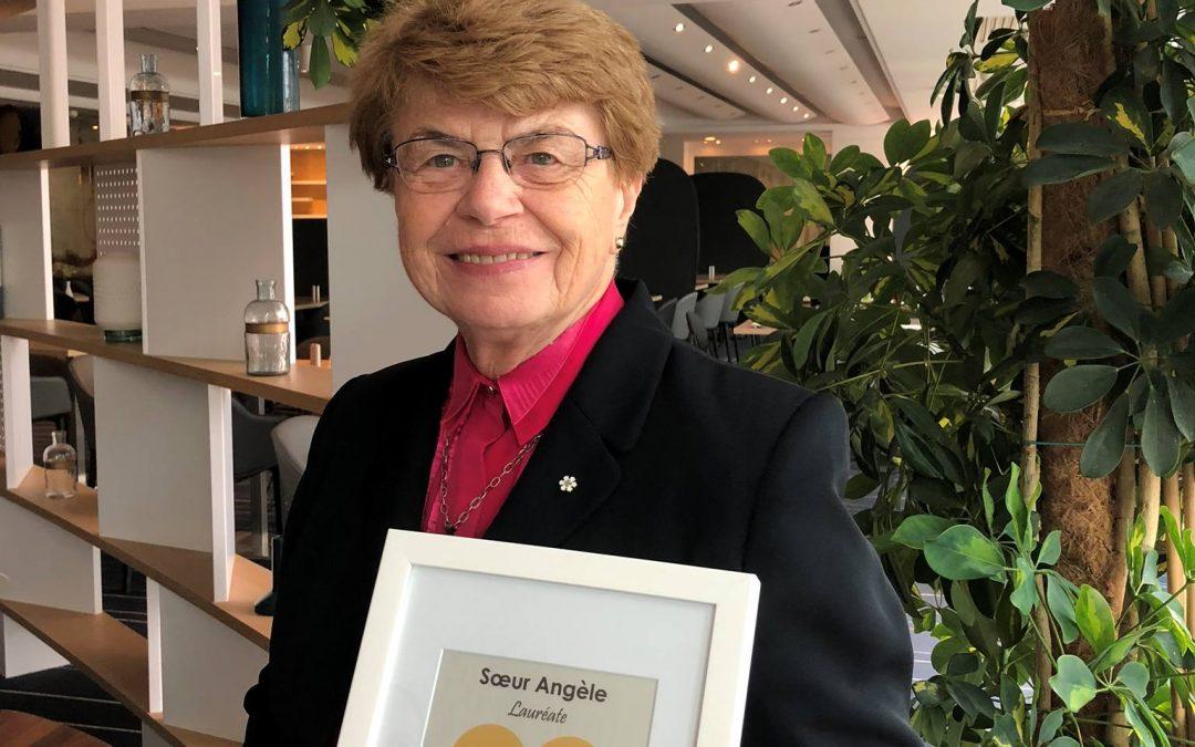 Sœur Angèle, ambassadrice du bonheur pour le Québec!