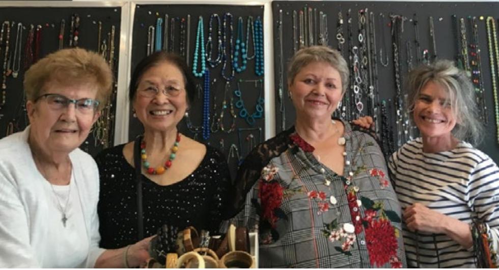 Marie-Berthe, bénévole à 89 ans chez les Petits Frères